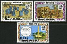 Gambia 351-353, MNH. Tourism: Stone Circles, Ruins, Mungo Park Monument, 1977