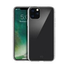 """XQISIT Phantom Glass Case for iPhone 11 Pro 5.8"""" Clear Hard Back Cover"""
