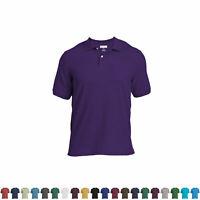 Logan & Martin Big Mans Heavyweight 100% Cotton Pique Polo Golf Shirts XL-8XLT