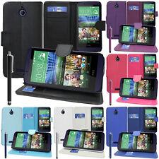 Funda Protectora Para HTC Desire 510 Móvil Cartera Funda con Tapa