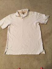 Tommy Bahama White Polo Short Sleeve Shirt Size S