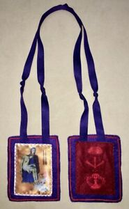 Purple Scapular / Scapular of Blessing & Protection