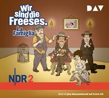 Wir sind die Freeses.... La Famiglia,, Neu-OVP- Hörbuch .3 CD's . .ab 13.11.2020
