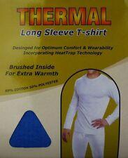 2 Mens THERMAL Long Sleeve T-Shirt Vest WINTER Ski Underwear / S M L XL XXL