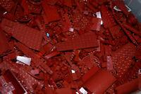☀️1-100 POUNDS Dark Red LEGOS Mix bulk lot lbs city Parts Pieces Bricks