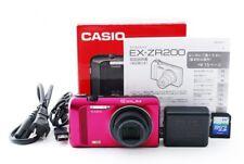 CASIO EX-ZR200 EXILIM High Speed Digital Camera 16.1MP Red [Exc+++] w/Box [247]