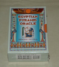 **OOP NEW & SEALED** Egyptian Pyramid Oracle Book & Card Set Verona McColl tarot