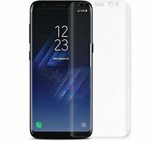 *Film* Full Coverage Samsung Galaxy S8 Clear Anti-Bubble 3D Screen Protector