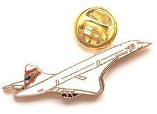 British Airways Concorde Passenger Jet Enamel Lapel Pin Badge