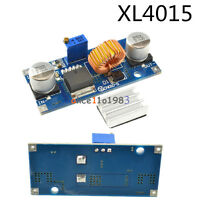 1/2/5/10PCS 5A XL4015 DC-DC Step Down 4-38V Power Supply Module LED Lithium