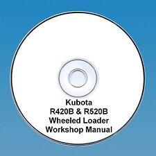 Kubota R420B & R520B Wheeled Loader - Workshop Manual.