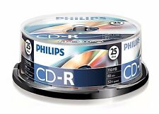 50 Philips CD-R RECORDABLE CD's 50 Blank CD Discs