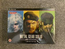 Metal Gear Solid HD Collection Limited Edition PS3 Playstation 3 *NEW & SEALED*