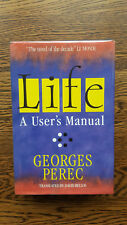 Georges Perec – Life A User's Manual (1st UK 1988 hb w dw) La Vie mode d'emploi
