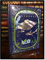20,000 Twenty Thousand Leagues Under The Sea by Jules Verne Sealed Leather Bound