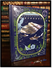 20,000 Twenty Thousand Leagues Under Sea Sealed Illustrated Leather Collectible