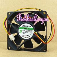 SUNON 12V 1.0W fan GB1205PKV3-8AY 3Pin #M2248 QL