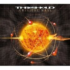 THRESHOLD - CRITICAL MASS  CD DEFINITIVE EDITION HEAVY METAL HARD ROCK NEUF