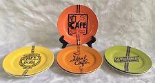 "Rosanna Cafe Belle Epoque 8"" Salad Appetizer Plates Set of 7"