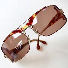 vintage CAZAL 963 olive-brown Germany rare sunglasses 1990 HipHop BBoy 951 955
