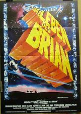 Monty Python DAS LEBEN DES BRIAN original Kino Plakat A1 EA Verleih CIC
