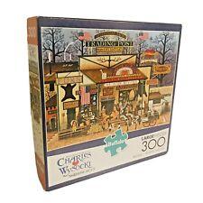 Charles Wysocki 300 Piece Jigsaw Puzzle Timberline Jacks by Buffalo COMPLETE