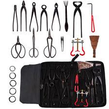 14pcs Carbon Steel Gardening Equipment Bonsai Tools Kit Cutter Scissors Tool Set
