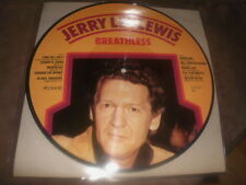 Jerry Lee Lewis-Breathless-PICTURE LP