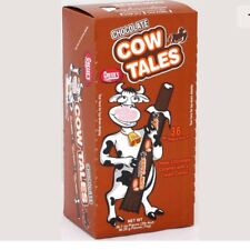 Cowtales Cow Tales Chocolate 36 Ct Box 2lbs Chewy Caramel Candy Cowtails Bulk