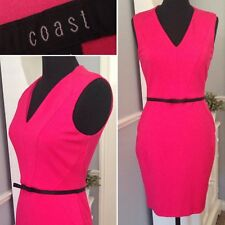 COAST Wiggle Cocktail Dress BODYCON | Party Fitted Summer Wedding Guest | UK 12