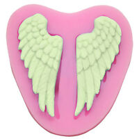 Angel Cherub Wings Fairy Baby Silicone Mould, Sugarcraft Cake Topper Chocolate