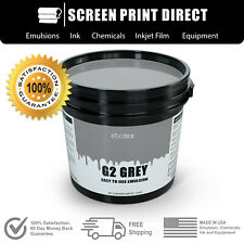 Ecotex Grey Easy To Use Emulsion For Screen Printing Pint 16oz