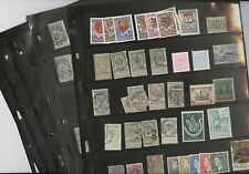 BELGIUM, Excellent assortment of Stamps in stock pages