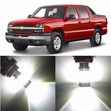 Alla Lighting DRL Light 3157K 4114K White LED Bulb for Chevy Avalanche 1500 2500