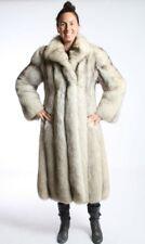 Size L Gorgeous Norwegian Fox Fur Women Full Length Coat [56]