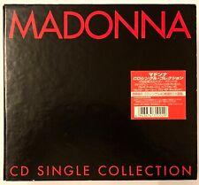 "MADONNA CD SINGLE COLLECTION JAPAN 40 X 3""CD BOX SET very rare! WPDR-3100-3139"