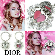 100 Authentic Dior Pretty Charms JEWEL Crystal Lipstick Heart Locket