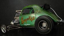 Vintage 1967 Chevy Big Block Hot Rod Drag Race Car Sport Rare Dragster Concept