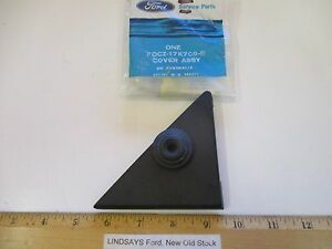 FORD 1991/1996 ESCORT & MERCURY TRACER COVER ASSY. L. H. REAR VIEW MIRROR HOLE