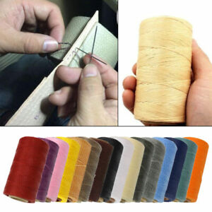 Sewing Thread Waxed Cords for Crafts Leather Shoes All Purpose 0.8mm 260m colors