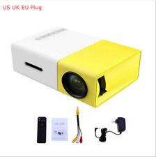 Home Theater Full HD Projector 1080P Cinema USB HDMI AV Mini Portable LED Video