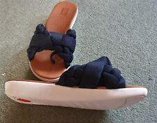 Fit Flop Size 6 Flip Flops Navy Worn Once in Great Condition