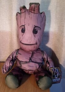 """Posh Paws 31073 Marvel Guardians of the Galaxy XL Groot Soft Toy 20"""" Plush"""