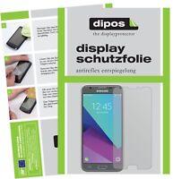 2x Folie für Samsung Galaxy J3 2017 Schutzfolie matt Displayschutzfolie Display