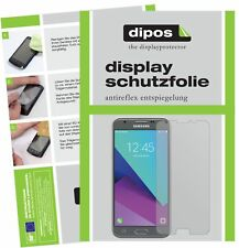 2x Samsung Galaxy J3 2017 Protector de Pantalla protectores mate dipos