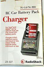 RadioShack 23-327 Nikko Tyco RC Car Battery Pack CHARGER  Ni-Cd/MH 4.8, 6 9.6v