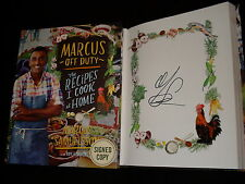 Chopped Judge Marcus Samuelsson signed Marcus Off Duty 1st print hardcover book