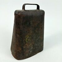 "Large Cowbell Vintage Cow Bell Farm Old 5"" x 7"""