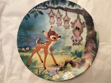 """Disney Bambi Collectors Plate """"What's Up, Possums"""" by Knowles #141A"""