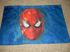 9A Marvel SPIDER-MAN Reversible Pillow Case (Microfiber Fabric) Spiderman